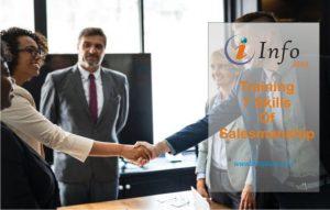 Training The 7 Skills Of Salesmanship