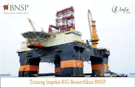 Training Inspeksi RIG Bersertifikasi BNSP