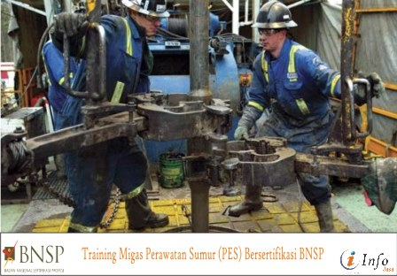 Training Migas Perawatan Sumur (PES) Bersertifikasi BNSP