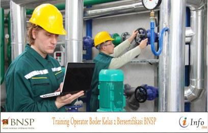 Training Operator Boiler Kelas 2 Bersertifikasi BNSP