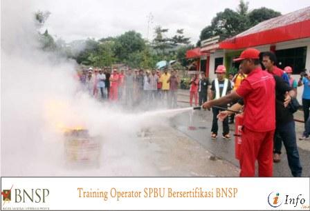 Training Operator SPBU Bersertifikasi BNSP
