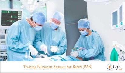 Training Pelayanan Anastesi dan Bedah (PAB)