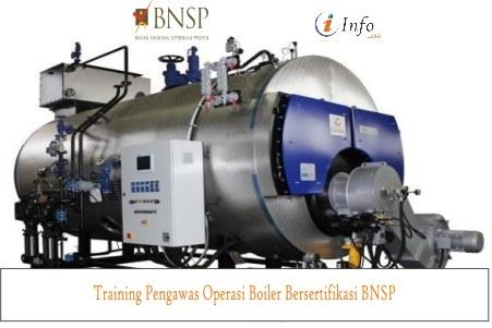 Training Pengawas Operasi Boiler Bersertifikasi BNSP